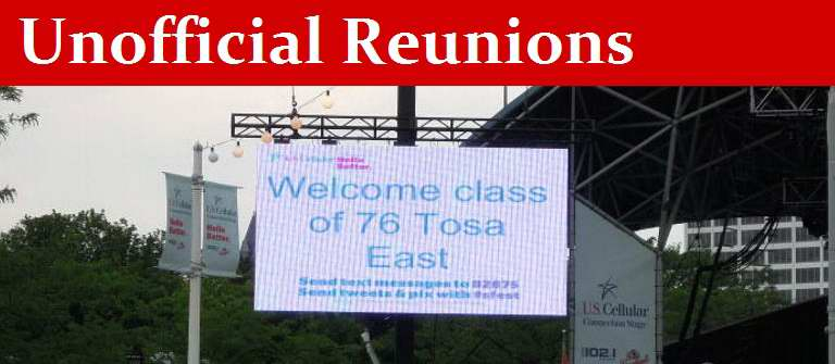 Tosa East '76 Unofficial Reunions